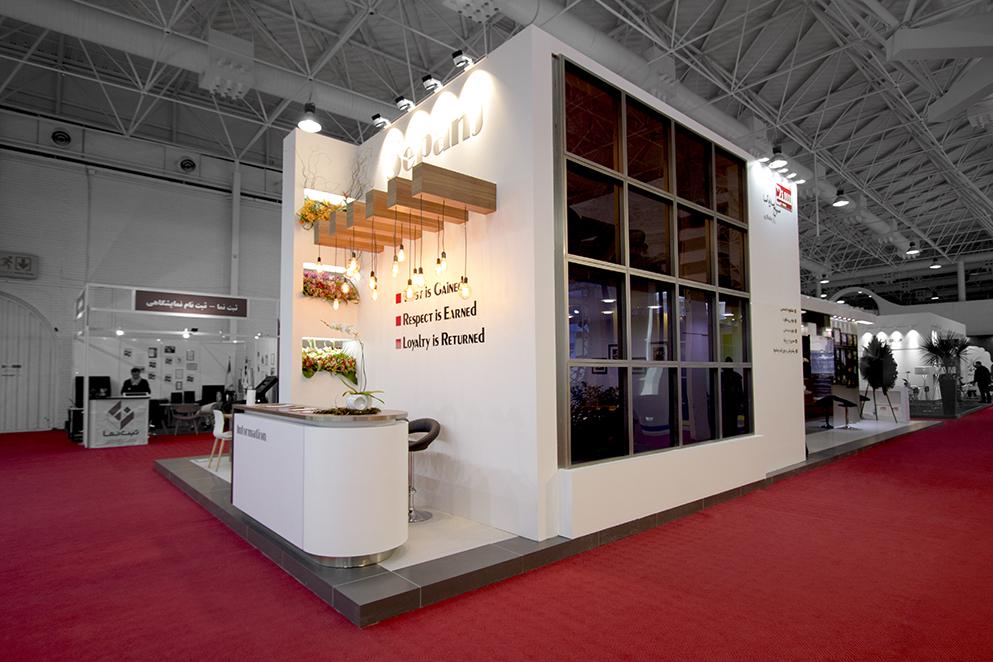 غرفه شرکت سپنج سازه آسا