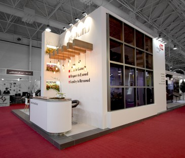 Sepanj Sazeh Asa Company | IECIE | Exhibition Stand Construction | Exhibition Stand Design
