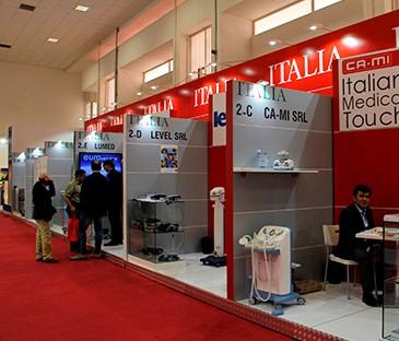 پاویون ایتالیا , نمایشگاه تجهیزات پزشکی