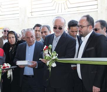 افتتاح رسمی کارخانه سپنج سازه آسا
