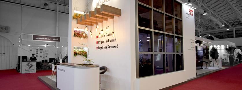 غرفه شرکت سپنج در نمایشگاه IECIE